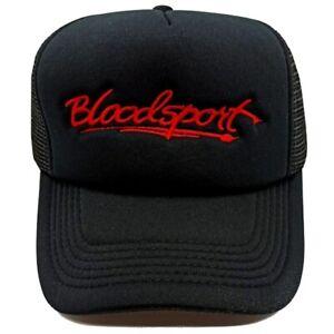 Bloodsport Logo Embroidered Hat Karate Kumite Dux Jean Claude Van Damme Movie