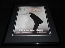2011 U2 From the Sky Down Framed 11x14 Original Advertisement