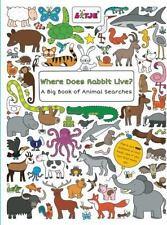 WHERE DOES RABBIT LIVE? - VERSTEEG, LIZELOT - NEW BOOK