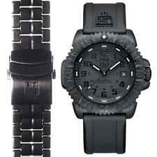 Luminox 3051.BO.SET Men's Sea Black Dial Watch & Extra PC Carbon Band Set