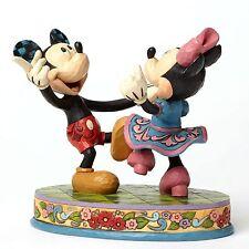 Jim Shore Mickey Minnie Dancing Swinging Sweethearts 4049641 Disney Traditions