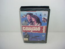 Delta Force Commando 2 VHS Video Tape Movie Black Case and Sleeve