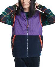 Tommy Hilfiger Reversible Urban Prep Vest Size XL Purple Blue Sherpa 78e3093