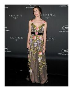 Gucci Gold Embroidered Flowers Tulle Dress Gown- With Tags- RRP$32,000 AUD