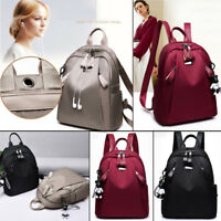 Casual PU Leather Backpack Handbag Shoulder Travel School Bag Rucksack Satchel