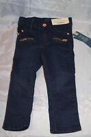 New Girls Genuine Kids by Osh Kosh Sweet Skinny Jeans 2T Adjustable Waist