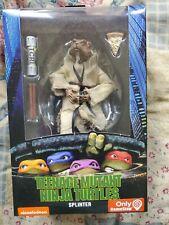 "NECA TMNT Splinter 7"" Inch 90's Movie Action Figure GameStop Ninja Turtles NIB"