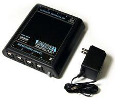 Whirwind 4 channel Micpower 4 Microphone Phantom Power Supply with Ac adaptor