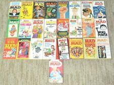 MAD Magazine Paperback Pocket Book Lot of 25 Signet/Warner Vintage 60's-70's