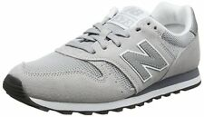 New Balance Men's 373 Suede Trainers in Grey / Silver - Size 10 UK / RRP £70+