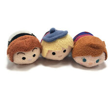 Disney Frozen Tsum Tsums Mini Plush Character Toy Anna Hans Kristoff Set of 3
