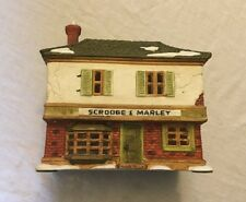 Vintage Dept 56 Dickens' Village A Christmas Carol Series Scrooge & Marley House