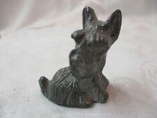 Vintage Whc Pewter Figurine Scottie Dog 18/28