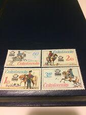 Czechoslovakia stamp MNH 1977 78 international stamp exhibition