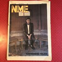 NME New Musical Express 19 April '80 Pete Townshend Cockney Rejects Iron Maiden