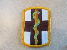 NEW US Army 1st Medical Brigade Dress Colored Military Patch