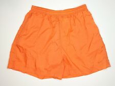 Nike Women's Swim Shorts Orange Tie Waist Large (12 - 14)