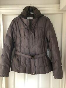 ladies geox puffer jacket size