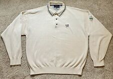 Vintage Tommy Hilfiger Golf Mens Pullover Collar Sweater XL - The Dunes