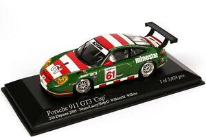 1:43 Porsche 911 GT3 Cup 996 24h Daytona 2005 Minestar Nr.61 Lacey Shep Wilkins
