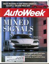 AutoWeek Magazine September 30, 1991 Mercedes-Benz C112 concept car
