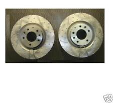 MAZDA RX8 FRONT  BRAKE DISC PERFORMANCE DIMPLED GROOVED 323MM
