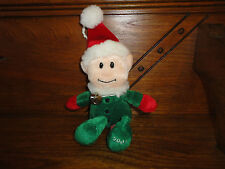 Sears ELVIN ELF Christmas Plush with Sleigh Bell