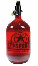 Gi Sportz Carbon Fiber 68ci / 4500psi N2 Hpa Paintball Tank - Red