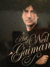 NEIL GAIMAN & HAYLEY CAMPBELL SIGNED X 2 The Art of Neil Gaiman 1ST/1ST HCDJ WOW