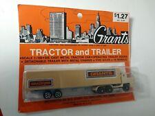 Vintage Majorette Grants Truck  &Trailer #g-361, 1:100 New & Unopened