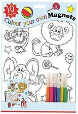 Art Box Colour Your Own Magnet (Pack of 10) tal 6713, design and decorate craft