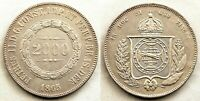 Brasil. 2000. Reis 1865. EBC-/XF-. Plata 25,4 g. Muy bonita