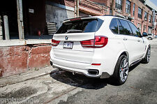 BMW X5 F15 M PERFORMANCE AERODYNAMIC PACKAGE AERO REAR SPOILER lip M-Sport X5M