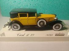Véhicule Solido 1/43 Age d'Or - Cord L.29 Limousine 1929 - Ref: 4055