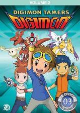 Digimon Tamers Volume 2 [New DVD] Full Frame, 3 Pack