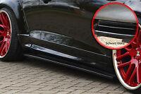 CUP Seitenschweller Schweller Sideskirts ABS für VW Scirocco 3 schwarz glänzend