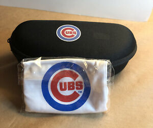 Chicago Cubs Sun Glasses Case and bag