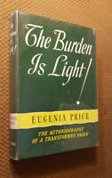 The Burden is Light! The Autobiography of Transformed Pagan by E. Price 1955 VTG