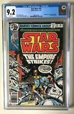 "Star Wars 18- CGC 9.2 WP - ""The Empire Strikes"" - Newsstand Ed"