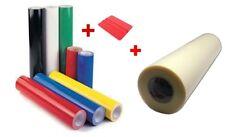 Starter kit 6 rotoli di vinile adesivo + application tape 61 cm + spatolina