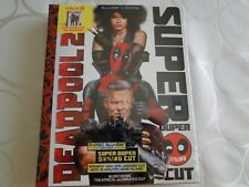 Deadpool 2 Blu-Ray Digital Target Exclusive Book New Sealed Super Duper Cut Mint