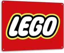 Lego Vintage Retro Tin Metal Sign