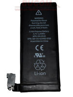 BATTERIE POUR IPHONE 4 3.7 V 1420mAh Li-Ion de rechange APN 616-0512 616-0513