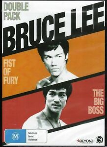 BRUCE LEE Double Pack - Fist Of Fury + The Big Boss (2 x DVD Set) NEW & SEALED