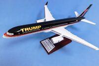 MODEL AIRCRAFT BOEING 757 US PRESIDENT DONALD TRUMP 1:100