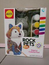 Alex Craft Rock Pets Fox Animals Kids Arts and Crafts Paint Activity Kit