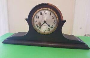 Vintage Antique W. Gilbert Shelf/ Mantle Clock- For Parts Or Repair