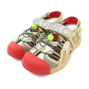 Gucci Sandals   Men  Multi Color rubber mesh 1526361
