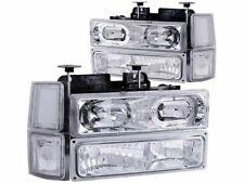For 1994-2000 Chevrolet K2500 Headlight Set Anzo 47253ZJ 1998 1995 1996 1997