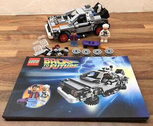 Lego 21103 The Delorean Time Machine Back To The Future - Retired - Rare